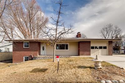 Longmont Single Family Home Active: 1020 Spencer Street