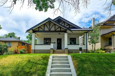 Denver Single Family Home Under Contract: 3409 Zuni Street