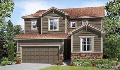 Castle Rock CO Single Family Home Active: $477,652