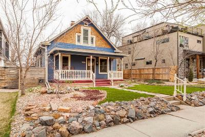 Denver Single Family Home Active: 4132 Vrain Street