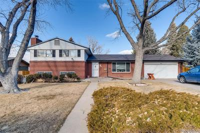 Centennial Single Family Home Active: 7092 South Trenton Drive
