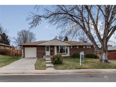 Centennial Single Family Home Under Contract: 3122 East Weaver Avenue
