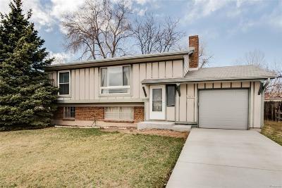 Broomfield Single Family Home Under Contract: 13211 Sheridan Boulevard