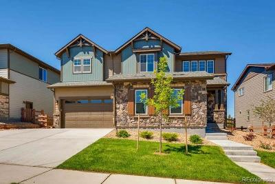 Aurora Single Family Home Active: 7833 South Grand Baker Court