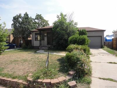 Denver Single Family Home Active: 516 Newton Street