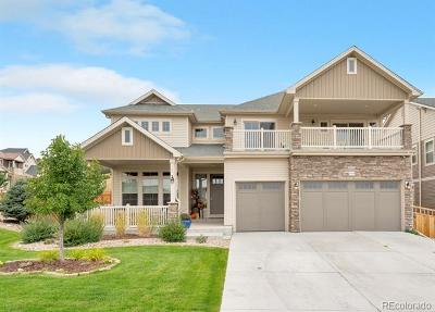 Castle Rock Single Family Home Under Contract: 1405 Clear Sky Way