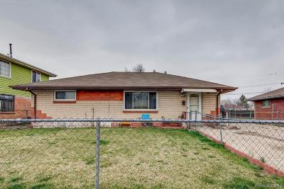 Commerce City Single Family Home Under Contract: 6961 Weiman Court
