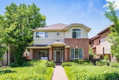 Single Family Home Under Contract: 2419 South Columbine Street