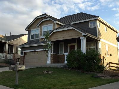 Castle Rock Single Family Home Active: 4011 Brushwood Way