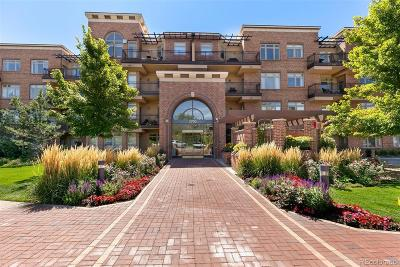 Denver Condo/Townhouse Under Contract: 2700 East Cherry Creek South Drive #407