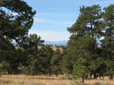 Parker CO Residential Lots & Land Active: $399,000