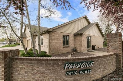 Wheat Ridge Condo/Townhouse Active: 4387 Quail Street #B