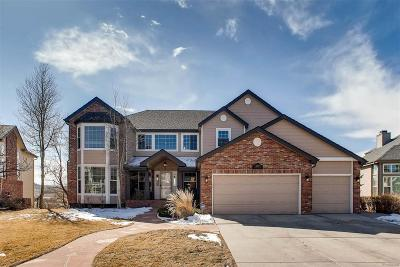 Highlands Ranch Single Family Home Under Contract: 10079 Cottoncreek Drive