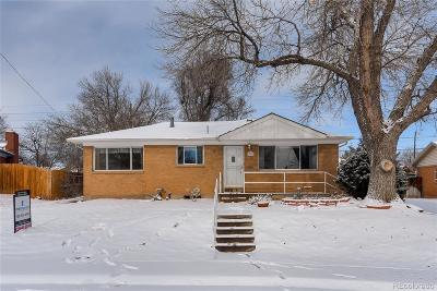 Northglenn Single Family Home Under Contract: 927 East 111th Place