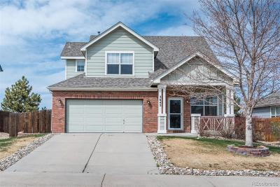 Castle Rock Single Family Home Under Contract: 5645 East Monument Drive