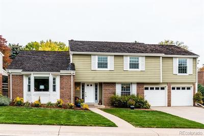 Centennial Single Family Home Active: 6981 South Poplar Way
