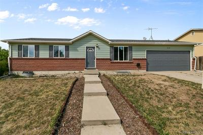 Aurora Single Family Home Active: 16729 East Layton Avenue