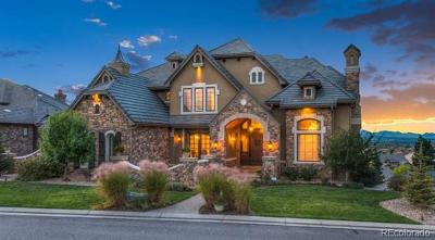 Highlands Ranch Single Family Home Active: 10841 Backcountry Drive