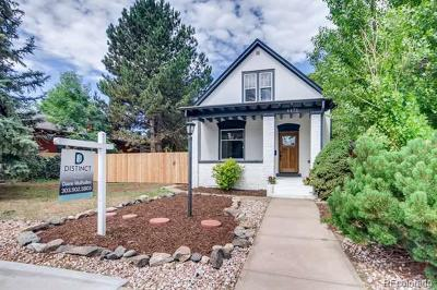 Denver Single Family Home Active: 4471 Lowell Boulevard