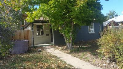 Denver Single Family Home Under Contract: 1639 Yosemite Street