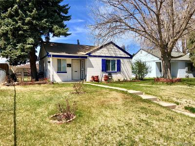 Denver Single Family Home Active: 3215 Dexter Street