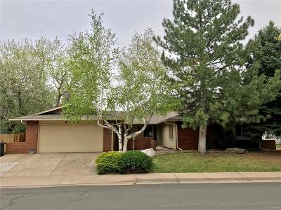 Centennial Single Family Home Under Contract: 6462 South Heritage Place