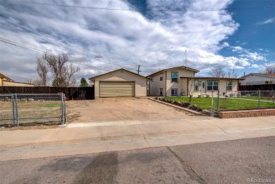 Commerce City Single Family Home Under Contract: 7300 East 78th Place