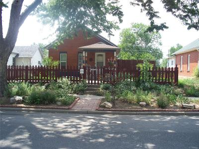 Denver Single Family Home Active: 4889 Perry Street
