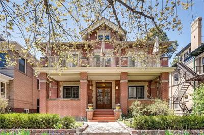Denver Condo/Townhouse Active: 1431 Columbine Street #6
