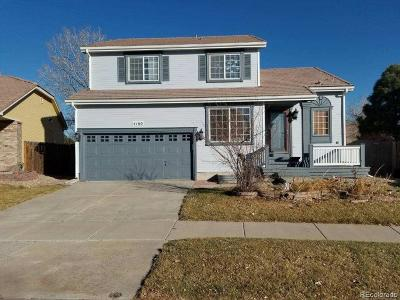 Denver Single Family Home Active: 4160 Ireland Street