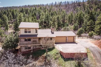 Larkspur CO Single Family Home Under Contract: $424,900
