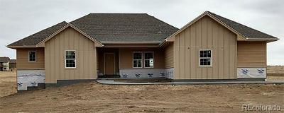 Elbert County Single Family Home Active: 37730 Wild Horse Trail