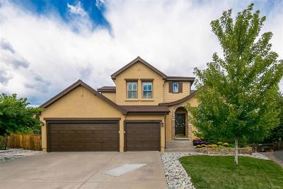 Highlands Ranch Single Family Home Under Contract: 2877 Canyon Crest Place