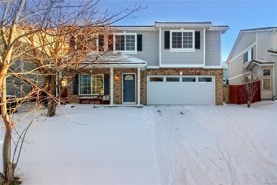 Commerce City Single Family Home Under Contract: 15360 East 97th Place