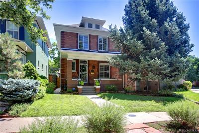Denver Single Family Home Active: 606 North Lafayette Street
