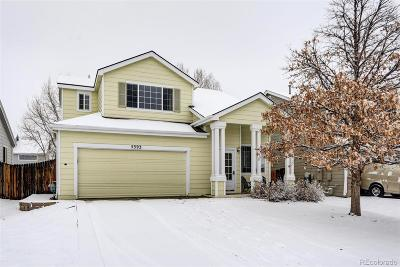 Castle Rock Single Family Home Under Contract: 5393 Suffolk Avenue