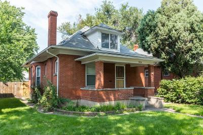Wash Park, Washington, Washington Park, Washington Park East, Washington Park West Single Family Home Active: 985 South Emerson Street
