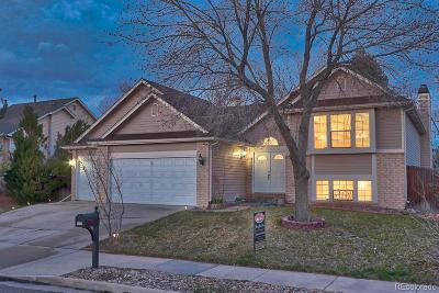Aurora Single Family Home Under Contract: 3832 South Uravan Street