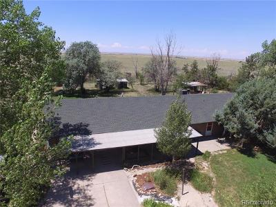 Arapahoe County Single Family Home Active: 7409 South County Road 157