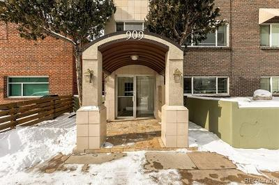 Condo/Townhouse Active: 909 South Pearl Street #104