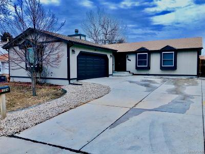 Aurora Single Family Home Under Contract: 2724 South Salida Street