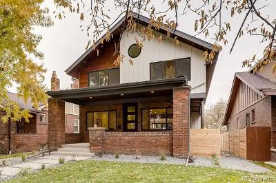 Denver Single Family Home Active: 880 South High Street