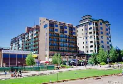 Steamboat Springs Condo/Townhouse Active: 2200 Village Inn Court #611