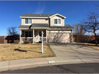 Aurora Single Family Home Active: 2308 South Genoa Way