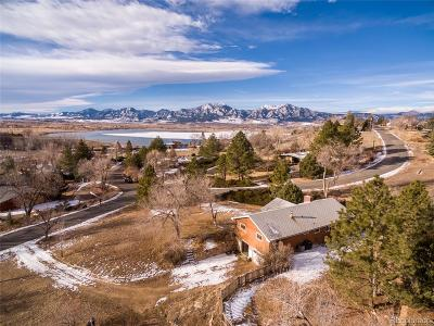Boulder Single Family Home Active: 6727 Lakeview Drive
