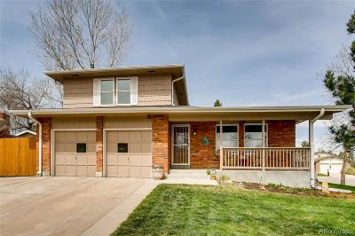 Arvada Single Family Home Active: 7833 Dover Court