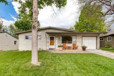 Denver Single Family Home Active: 1430 South Jersey Way