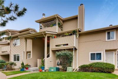 Arvada Condo/Townhouse Under Contract: 6005 Yarrow Street #D
