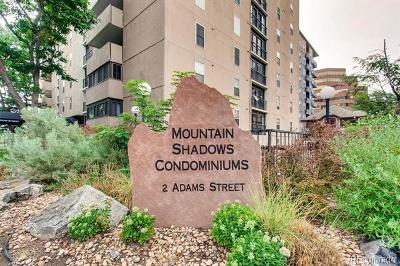 Cherry Creek, Cherry Creek East, Cherry Creek North, Cherry Creek South, Clayton Lane Condo/Townhouse Active: 2 Adams Street #1504