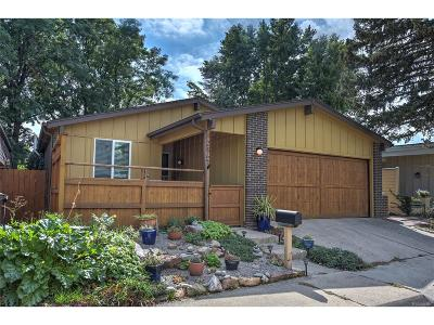 Boulder Single Family Home Under Contract: 2864 Nebrina Place